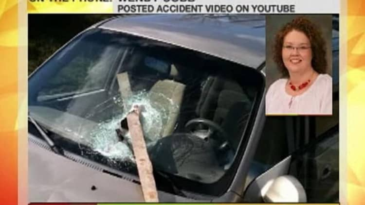 Video: Driver of shocking road debris accident interviewed by NBC's Today Show
