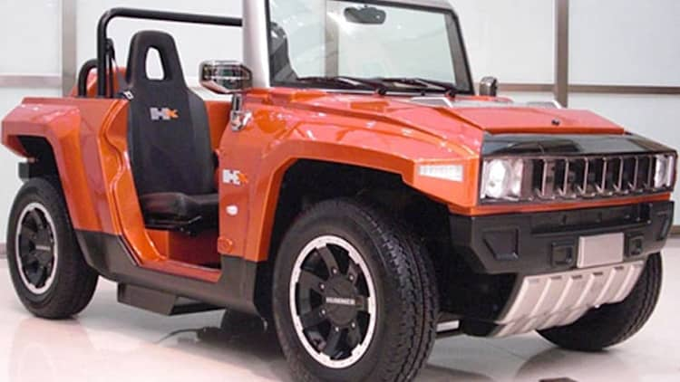MEV rocks up with electric mini Hummer HX
