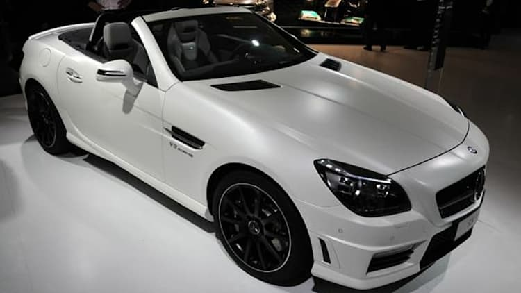 2012 Mercedes-Benz SLK55 AMG will seriously tatter your toupee [w/video]
