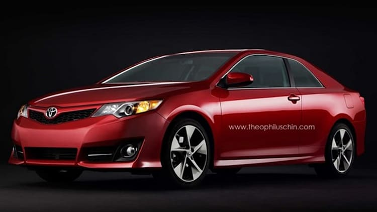 2012 Toyota Camry Solara coupe imagined