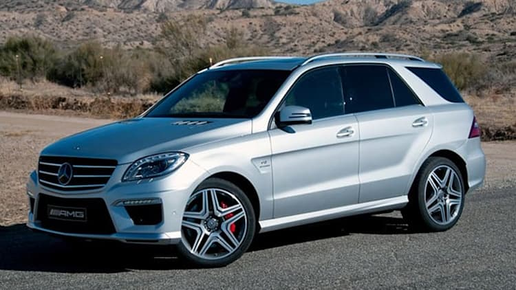 2012 Mercedes-Benz ML63 AMG [w/video]