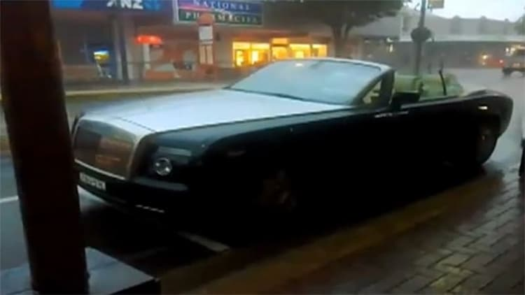 PSA: Leaving your Rolls-Royce Drophead open in the rain could be a $100k mistake