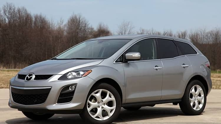 Mazda CX-7 leaving the U.S. market after 2012