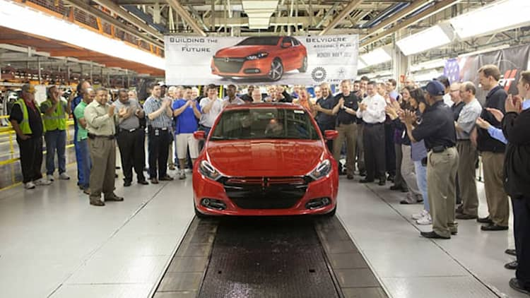 2013 Dodge Dart production kicks off in Belvidere [w/video]