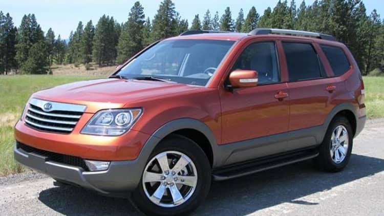 2009 Kia Borrego recalled over brake pedal issue