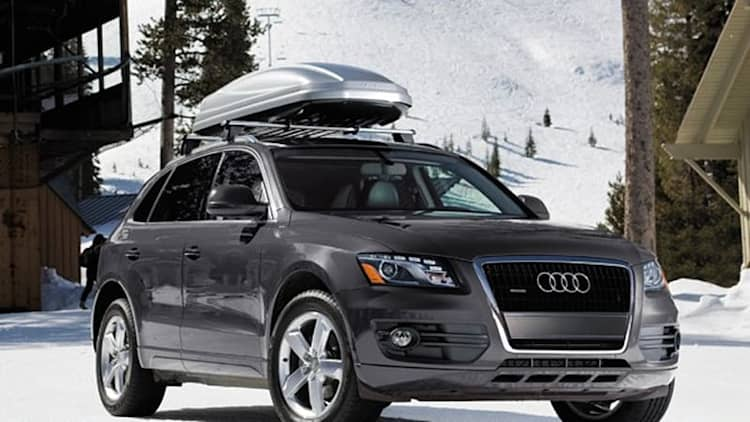 2012 Audi Q5 models recalled over shattering sunroofs