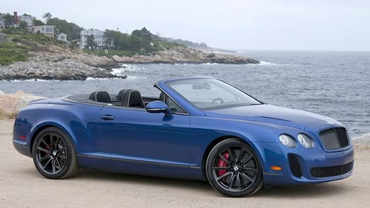 2012 Bentley Continental Supersports Convertible [w/video]