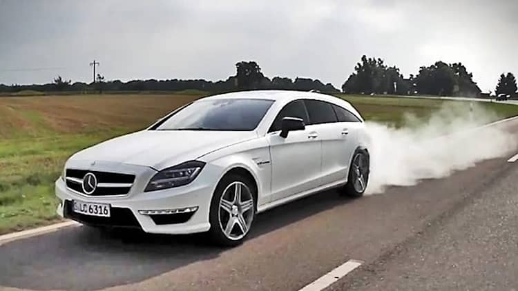 Chris Harris discovers new niche with Mercedes-Benz CLS 63 AMG Shooting Brake