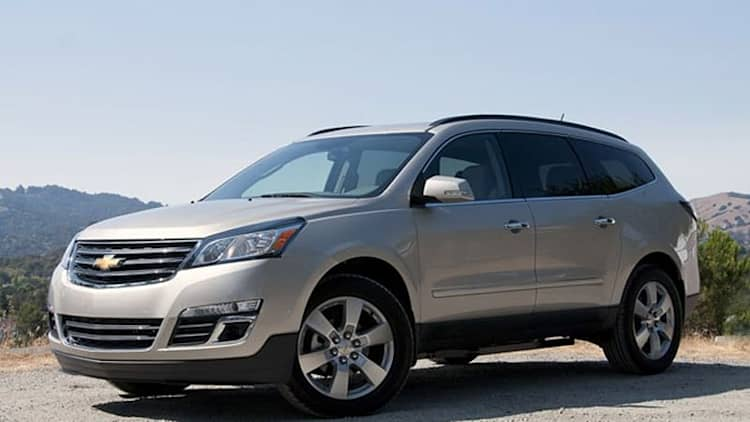 2013 Chevrolet Traverse [w/video]