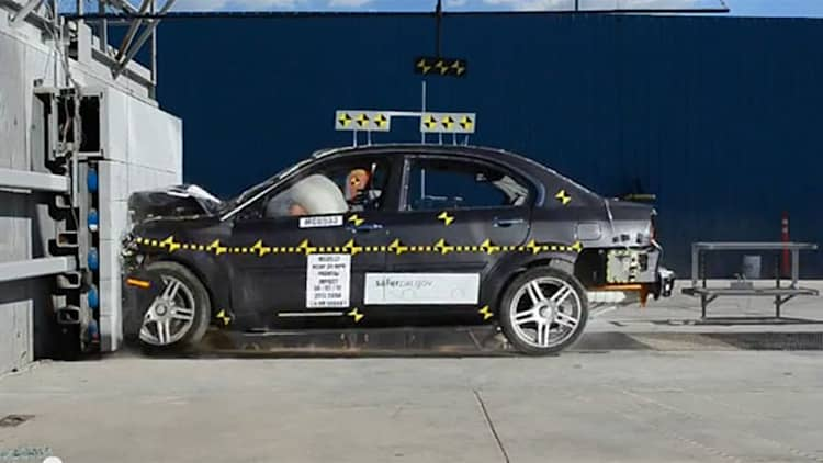 All-electric Coda Sedan gets crashed, earns just two stars in frontal test [w/videos]