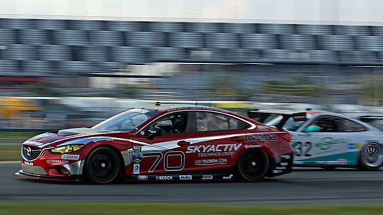 Mazda6 GX Grand-Am racer goes where no diesel sedan has gone before