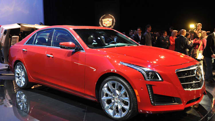 2014 Cadillac CTS debuts new design, twin-turbo power, Vsport model [w/video]