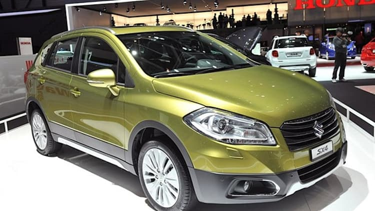 2013 Suzuki SX4 gets new generation to carry on without us [w/video]