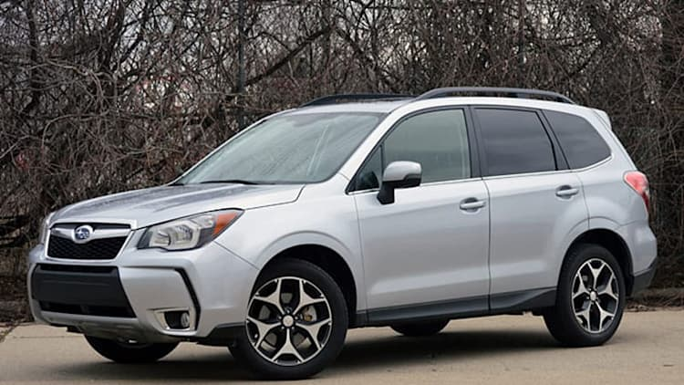 2014 Subaru Forester scores 5 stars in NHTSA crash test [w/video]