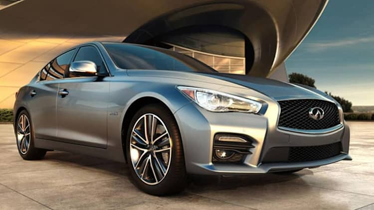 2014 Infiniti Q50 sees 3,650 pre-sales ahead of Aug. 5 debut