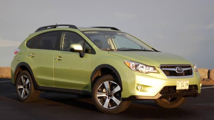 2014 Subaru XV Crosstrek Hybrid [w/video]