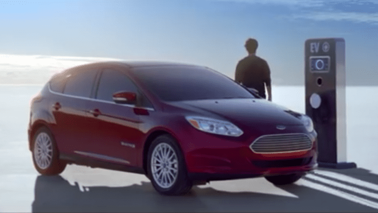 Ford launches first-ever ad for Focus Electric