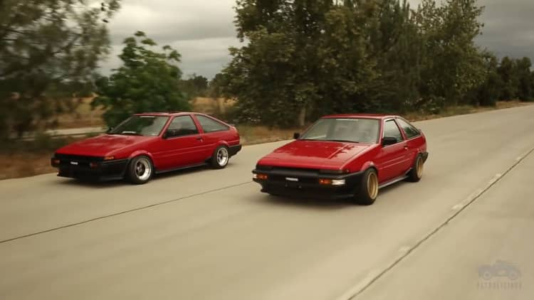 One man fulfills passion and career with Toyota AE86 coupes