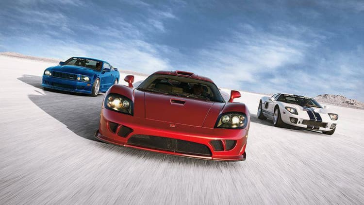 The Story of the American Supercar
