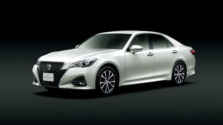 Toyota updates JDM Crown sedan to celebrate 60th birthday