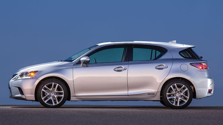 Lexus CT 200h gets four changes for 2016