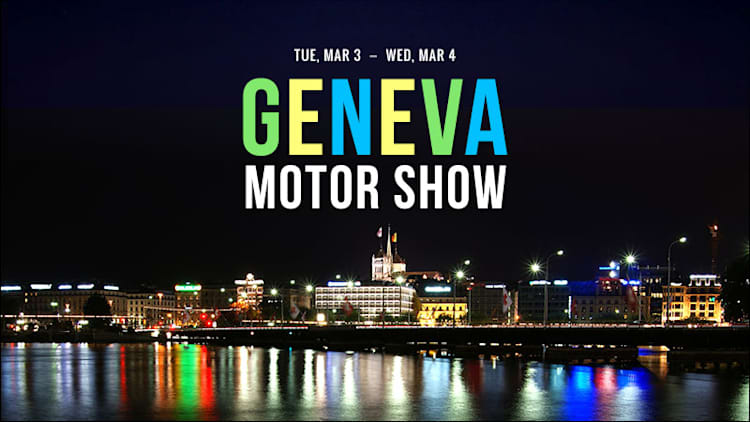 Click here to view our complete Geneva Motor Show coverage