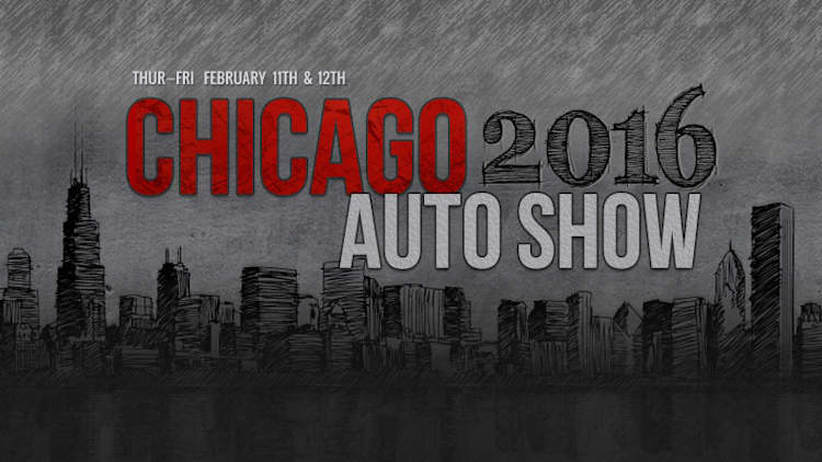 Click here to view our complete 2016 Chicago Auto Show coverage