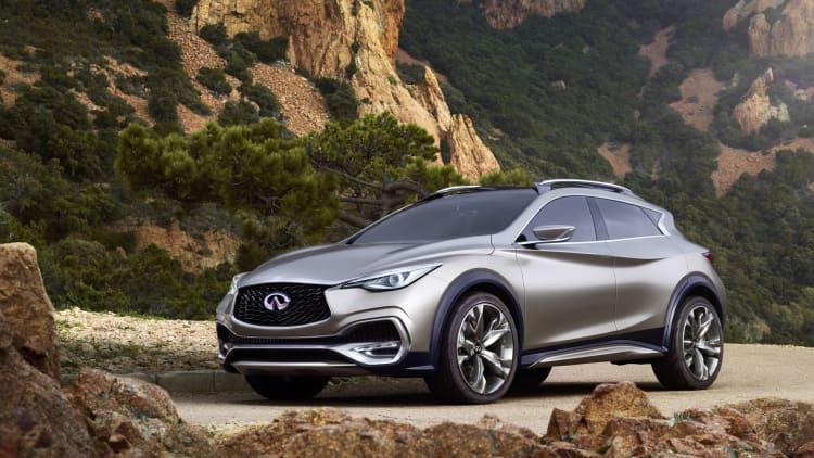 Production Infiniti QX30 coming to LA Auto Show