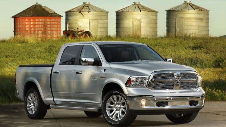 Three Ram recalls affect more than a million pickups