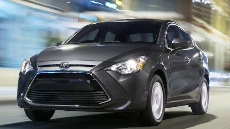 Cheap, honest transportation   2017 Toyota Yaris iA