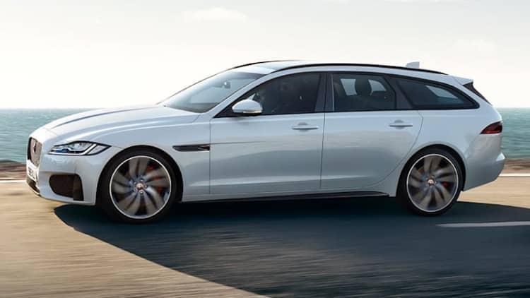 Jaguar fully reveals the $71,445 XF S Sportbrake