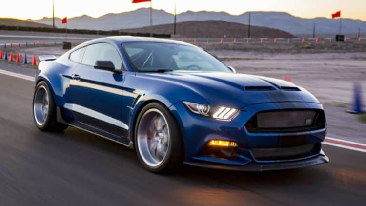 Shelby's widebody Mustang is a concept, but its Super Snake F-150 is production bound