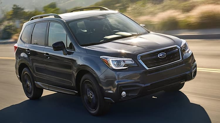2018 Subaru Forester joins the black-out bandwagon with Black Edition