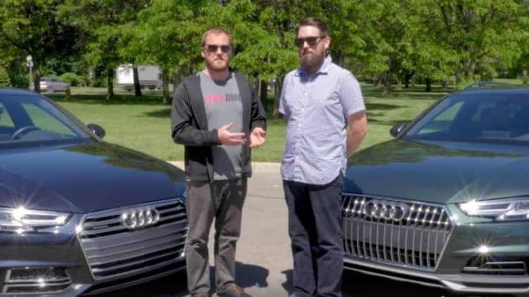 2017 Audi A4: Allroad vs. sedan: We explain the differences