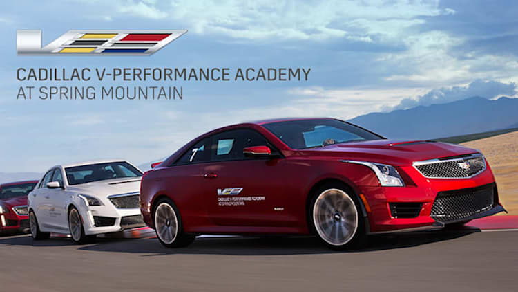 Cadillac V-Performance Academy joins free driving school party