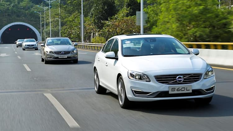 Chinese-built Volvo S60s en route to US