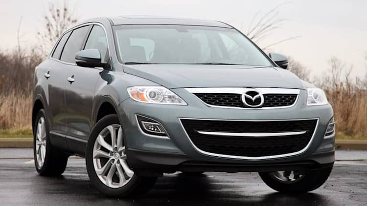 Mazda recalls 193k CX-9 crossovers over corroded suspension