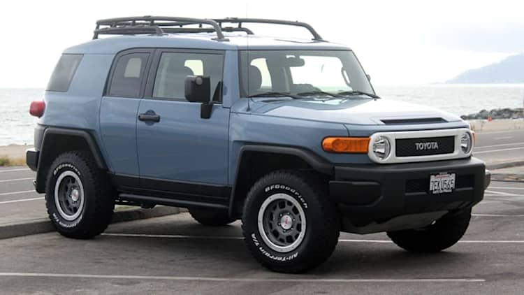Toyota recalling small number of 2014 FJ Cruisers for possible steering failure