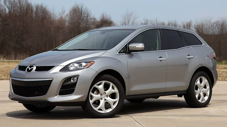 Mazda recalling 190,000 CX-7s due to rusty ball joints
