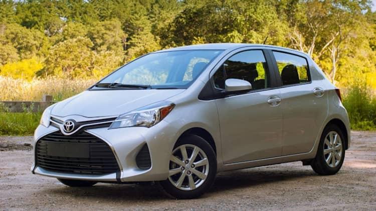 2015 Toyota Yaris Quick Spin