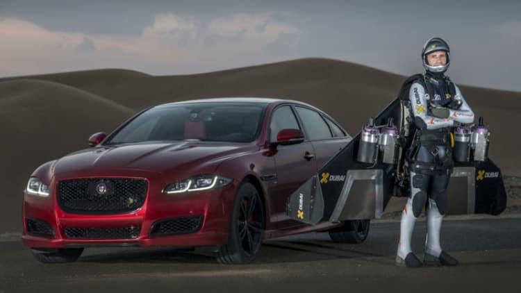 Jaguar vs. Jetman: Place your bets