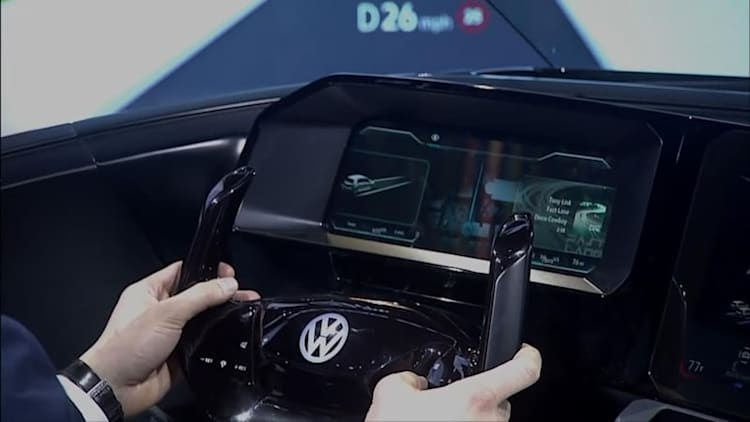 The Volkswagen Interactive Experience at CES was promising, but not quite perfect