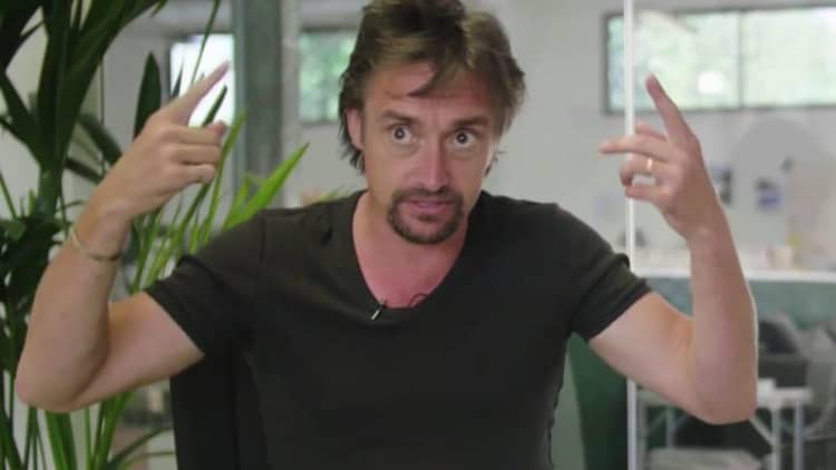 Richard Hammond and Mate Rimac dish on the hillclimb crash
