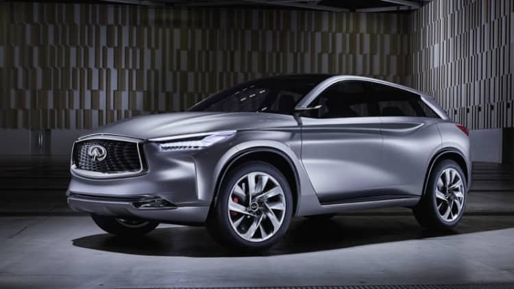 Infiniti QX Sport Inspiration Concept fits perfectly in the QX50's shoes