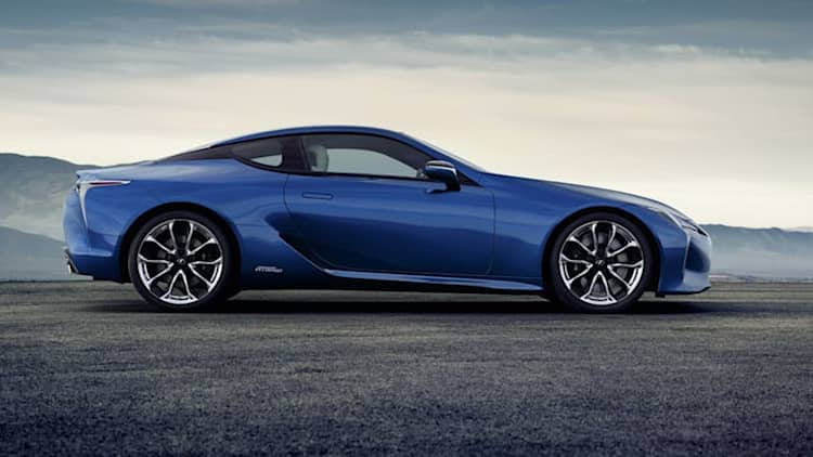 Lexus takes aim at electric vehicles, again