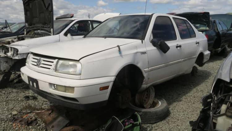 Junkyard Gem: 1996 Volkswagen Jetta Trek Edition