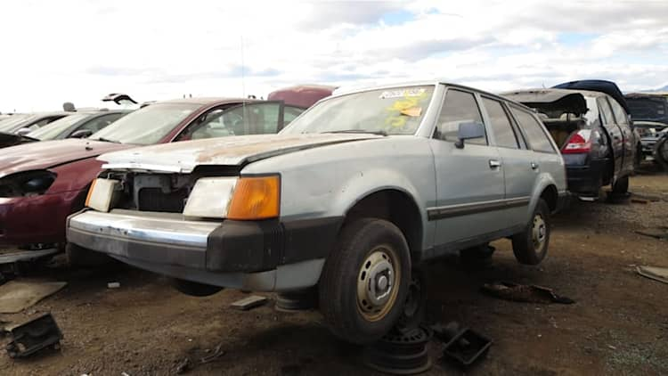 Junkyard Gem: 1986 Ford Escort L Station Wagon