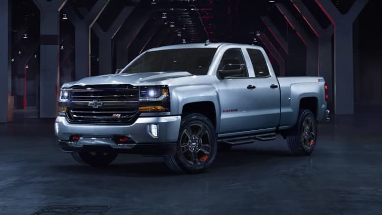 Chevy launches Redline special-edition series on Silverado and more