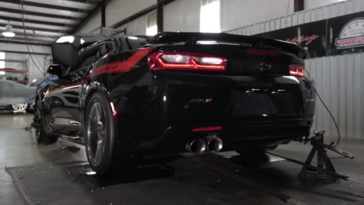 Demon, be gone! Watch - and listen - as Exorcist makes 959 hp at the wheels