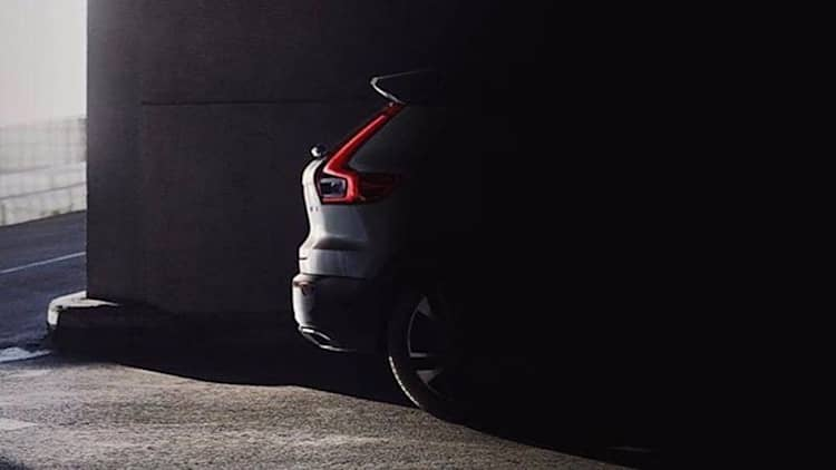 Volvo XC40 crossover gets accidental reveal in Instagram photo